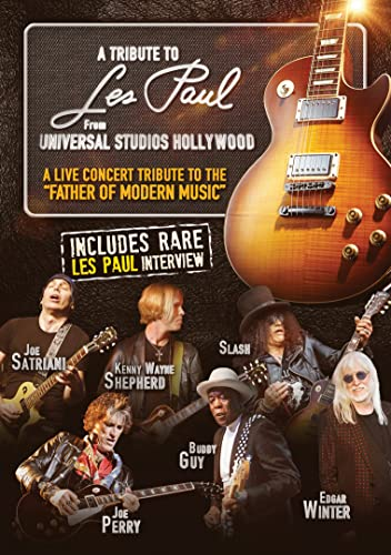 A Tribute to Les Paul: From Universal Studios Hollywood (DVD)