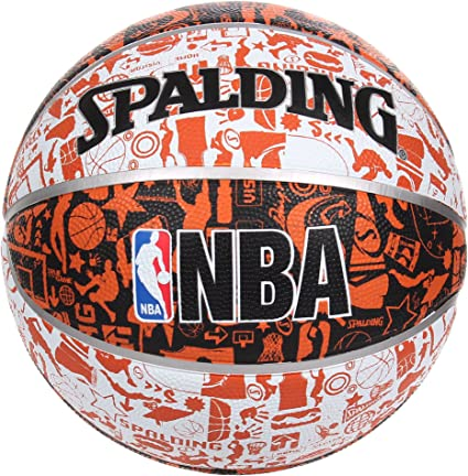 Pelota de baloncesto SPALDING NBA Graffiti 7 tamaño: Amazon.es ...