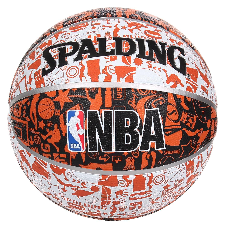 Pelota de baloncesto SPALDING NBA Graffiti 7 tamaño: Amazon.es ...