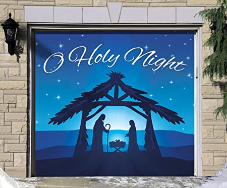 Amazon.com: Victory Corps - Cartel de Navidad para puerta de ...