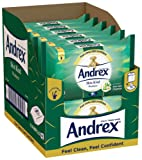 Andrex Washlets Flushable Toilet Tissue Wipes, Skin Kind - 12 Pack (Total 480 Wipes)