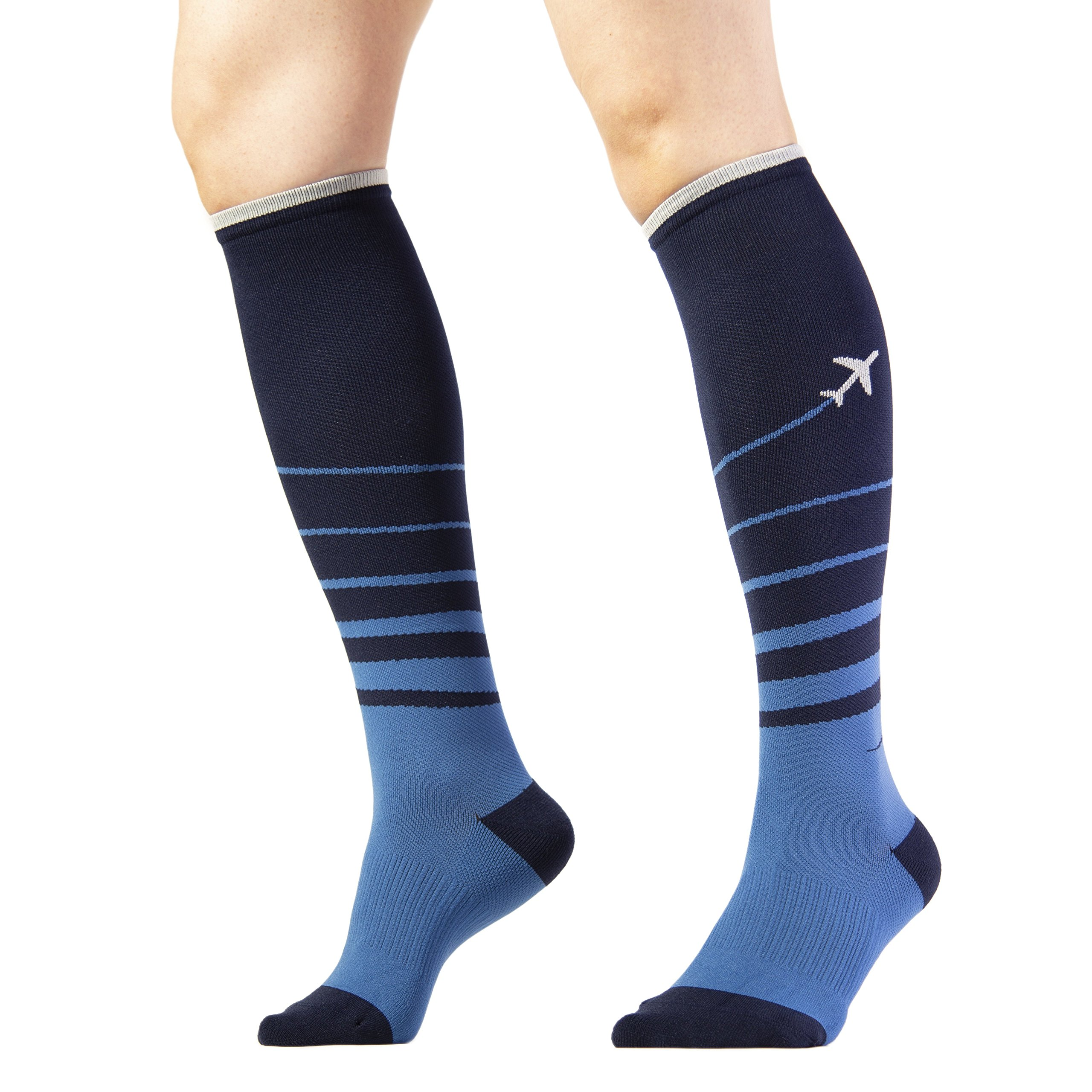 Trtl Compression Socks (Small, Sydney) - Gentle Graduated Compression (15-21mmHg), Comfort, and Quality Knitting, Hugs The Natural Curves of Your Legs and Feet