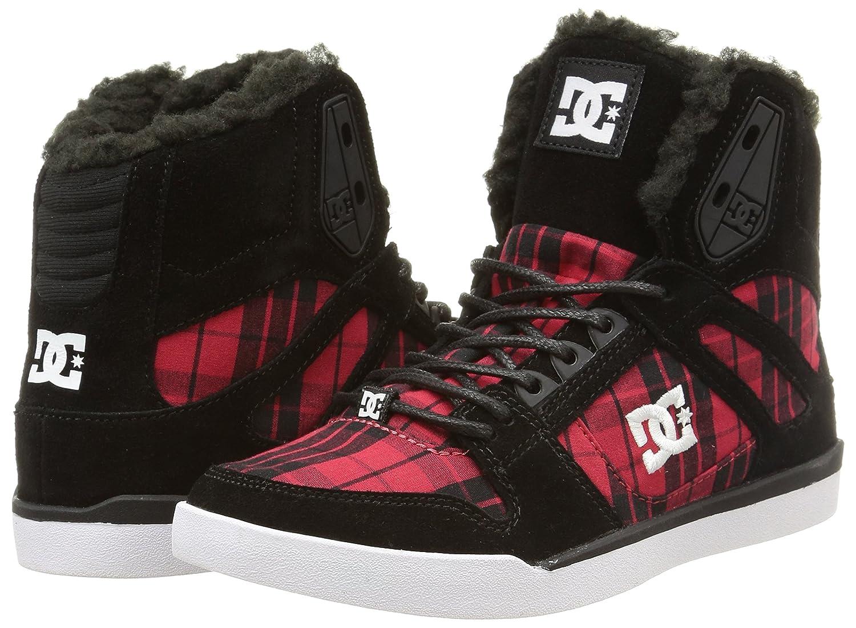 DC Shoes Womens Rebound Slim Hi J Shoe HighTop Trainers Multicolor Size  4 Amazoncouk Shoes  Bags