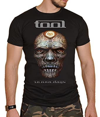 Tool Black Mens Rock Band Round Neck T-Shirt New (S)