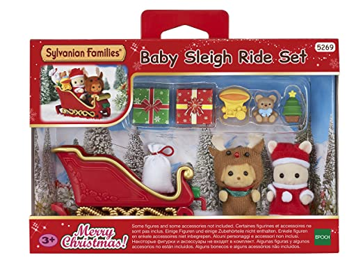 Sylvanian Families Baby Sleigh Ride Set