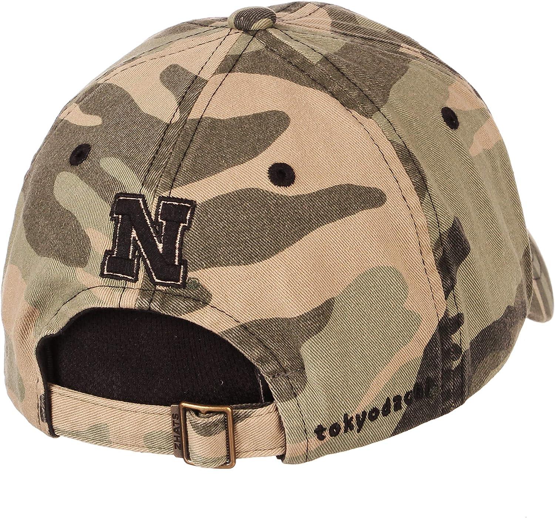 Camo Adjustable NCAA Zephyr Nebraska Cornhuskers Mens Hayashi Relaxed Hat