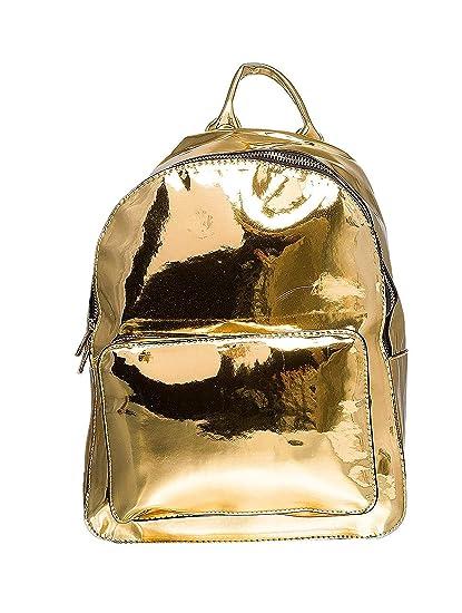 91f85238f5 Urban Classics Midi métallisé Backpack Sac à Dos, 28 cm, 8 l, Or:  Amazon.fr: Bagages