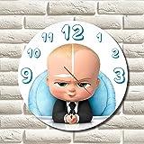 THE BOSS BABY 11.8'' 掛け時計 ( ボスベイビー ) あなたの友人やご家族のための最高のプレゼントです。