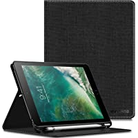 Infiland iPad 5th 6th Gen - Funda, Negro