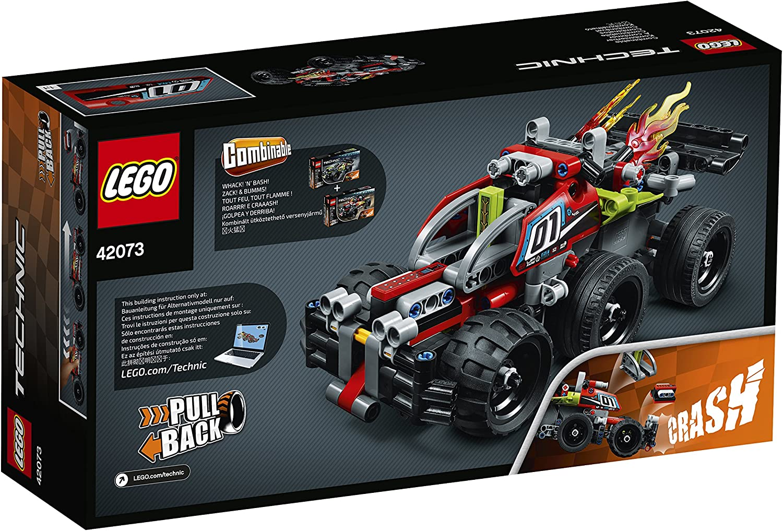 Molle Auto Su Misura.Amazon Com Lego Technic 42073 Bumms Toys Games