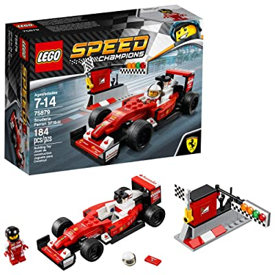 LEGO Speed Champions 6175267 Scuderia Ferrari SF16-H 75879, Multi: Toys & Games