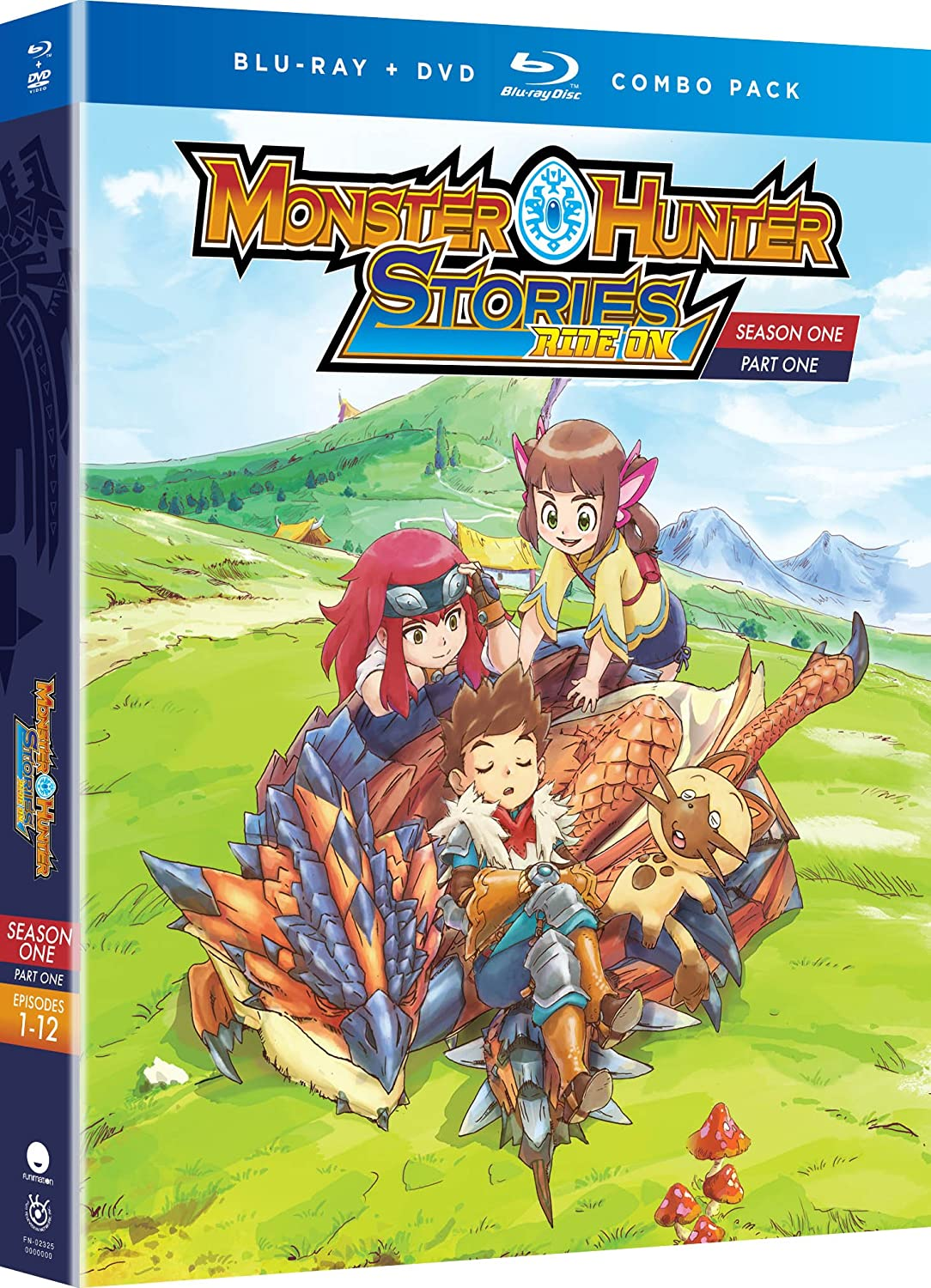 Amazon Com Monster Hunter Stories Ride On Season One Part One