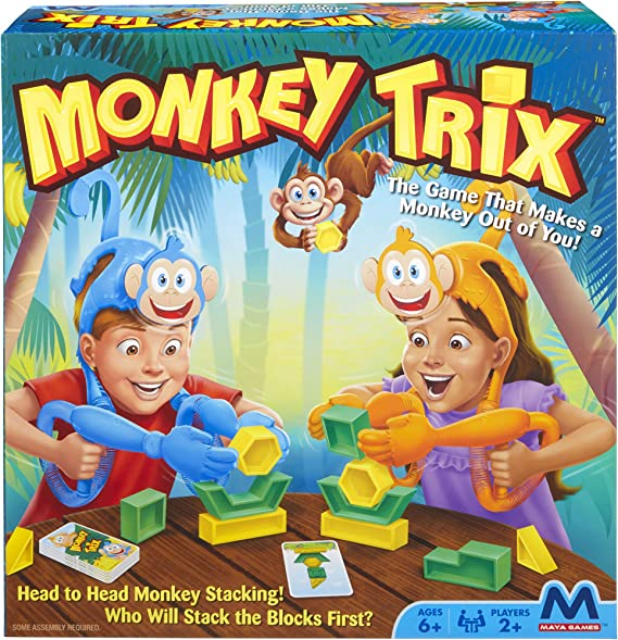 Maya Games - 34150 Monkey Trix - Family Board Game (Amazon Exclusive)