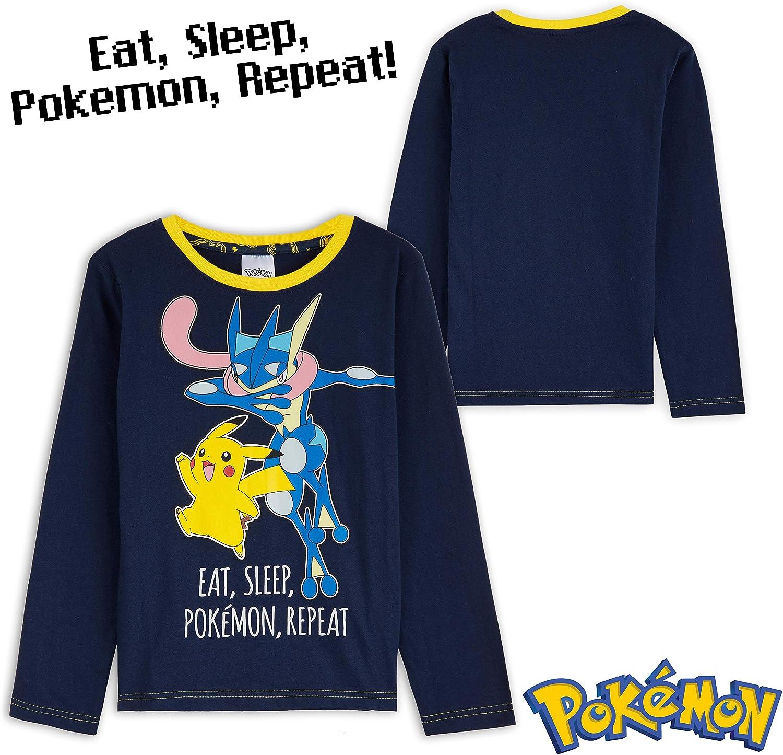 Detektive Pikachu Pokemon Lang Pyjama 6 Sich 12 Jahre Pyjama Spiel Film Jungen