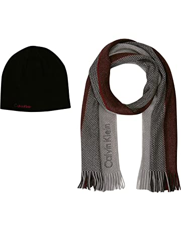 e6460992bd2 Calvin Klein Men s Hat and Scarf Set