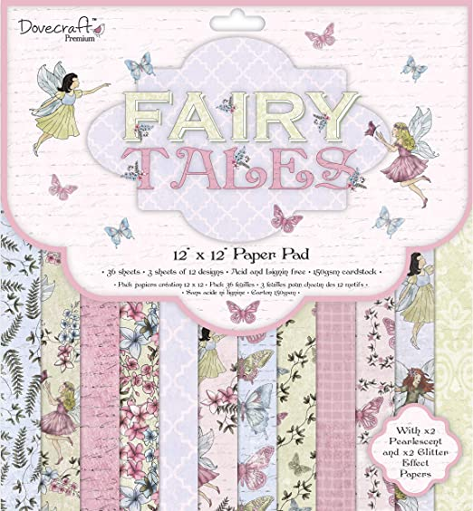 Dovecraft Premium Fairy Tales Paper Craft Collection Wooden Frames