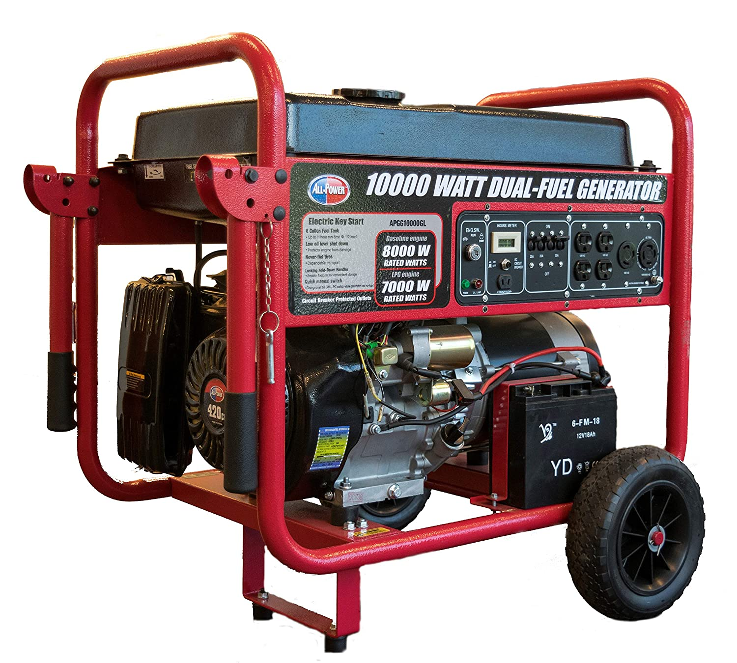 Best 10000 Watt Generator Top 10 Units Reviewed 2020