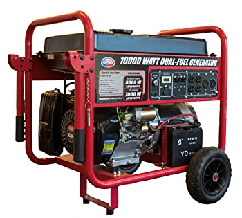 All Power America APGG10000GL 10000 Watt Dual Fuel Portable Generator