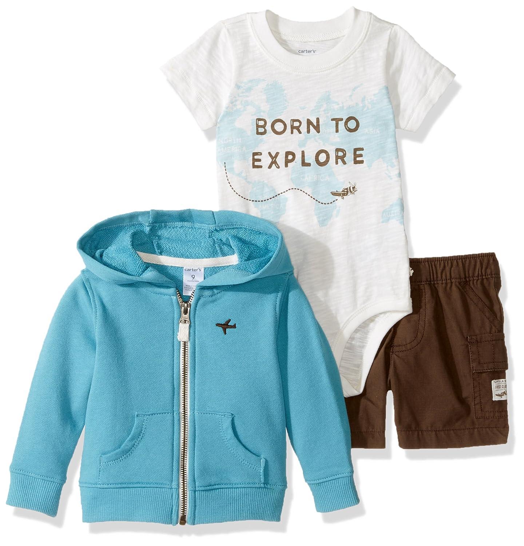 772f8e4f8dab Amazon.com  Carter s Baby Boys Cardigan Set (Baby)  Clothing