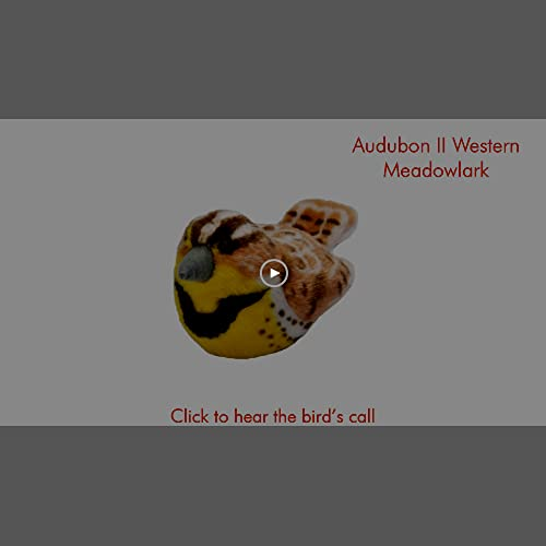 lovely Wild Republic Audubon Birds Western Meadowlark Plush