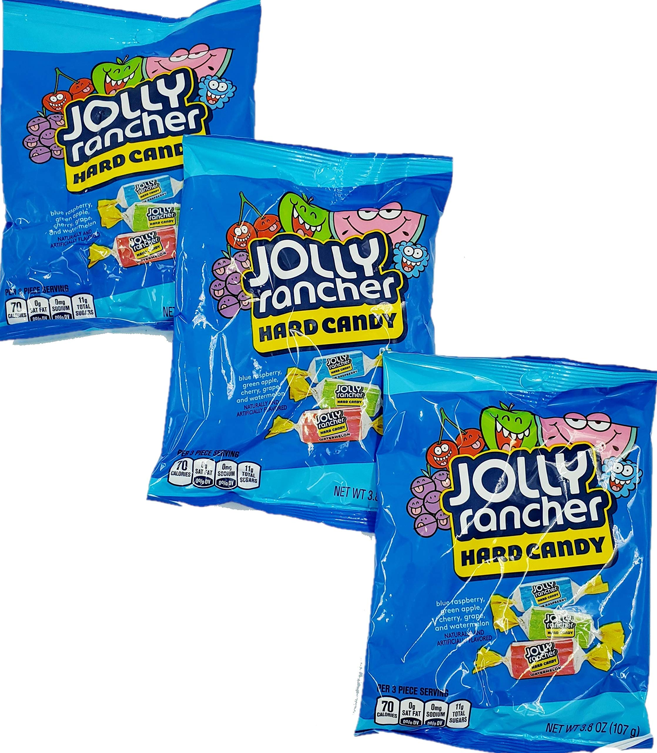 Jolly Rancher Hard Candy in Original Flavors (3.8-Ounce package) (3 Pack)