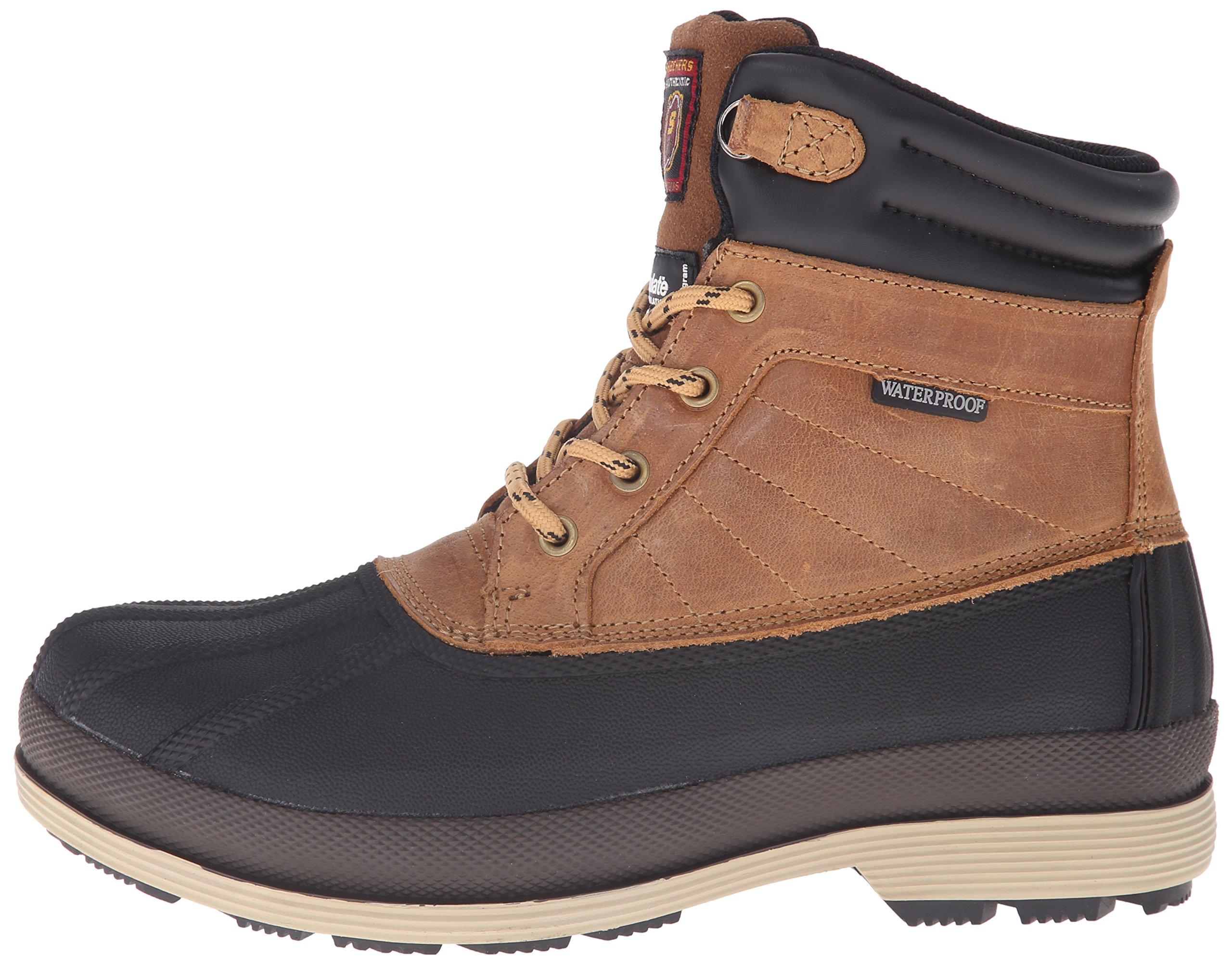 Skechers for Work Women's Duck Rain Boot, Brown, 5.5 M US by Skechers (Image #5)
