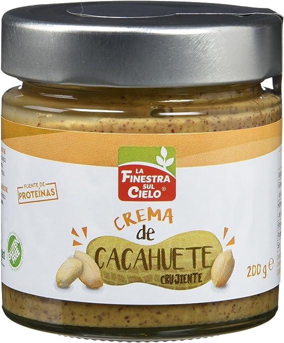 Cremas de cachuete crunchy - La Finestra Sul Cielo - 200g ...