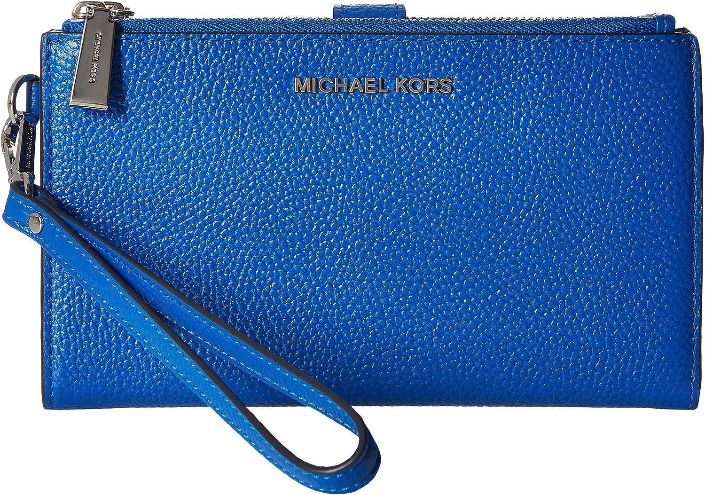 MICHAEL Michael Kors Double Zip Wristlet Grecian Blue One Size