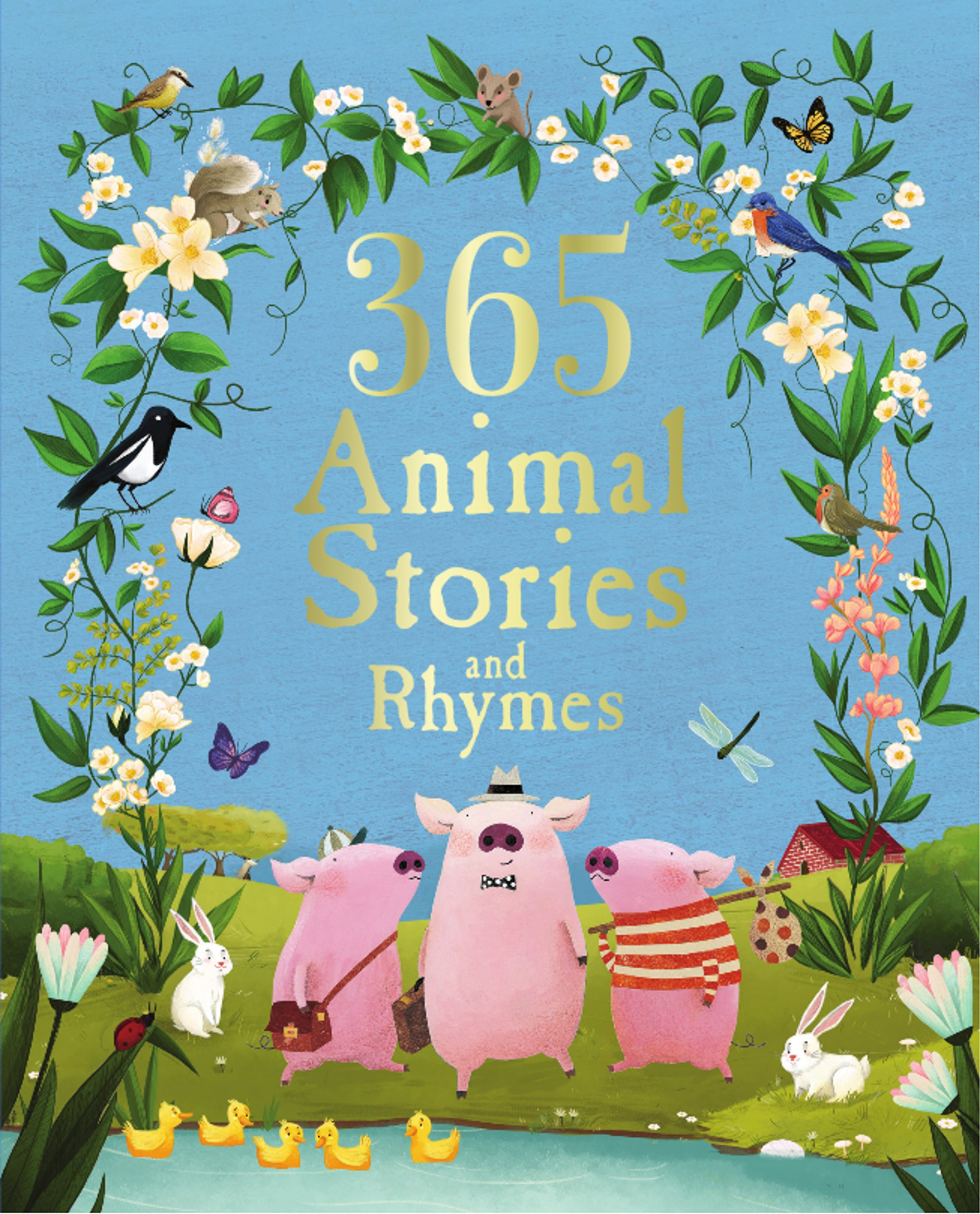 Download 365 Animal Stories and Rhymes Treasury (Deluxe Edition) ebook