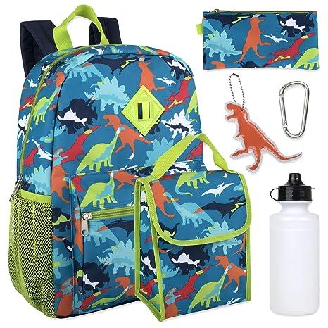 Amazon.com: Juego de mochila 6 en 1 para niño con bolsa para ...