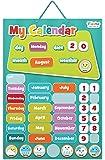 Fiesta Crafts Activity Charts Magnetic My Calendar (Blue)
