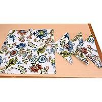 Arohi Cotton Table Napkin Multipurpose Kitchen Napkin, Dining Table Napkin Printed Napkin Set