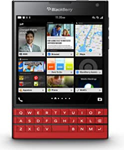 BlackBerry Passport Red Edition Factory Unlocked International Version with Qwerty Arabic Keypad