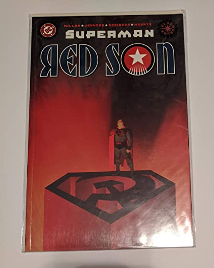 Superman Red Son 1 Comic Book 1st Printing Mark Millar Kickass Story What If Superman Was Born In The Ussr At Amazon S Entertainment Collectibles Store