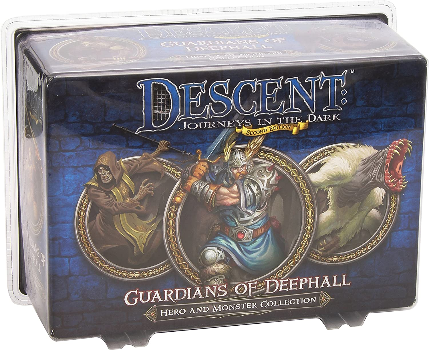 Descent: Guardians of Deephall Hero and Monster Collection: Fantasy Flight: Amazon.es: Juguetes y juegos