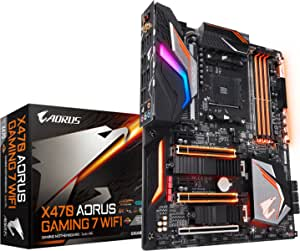 GIGABYTE X470 AORUS Gaming 7 WIFI (AMD Ryzen AM4/ X470/ Intel Wave 2 WIFI/ M.2) Motherboard