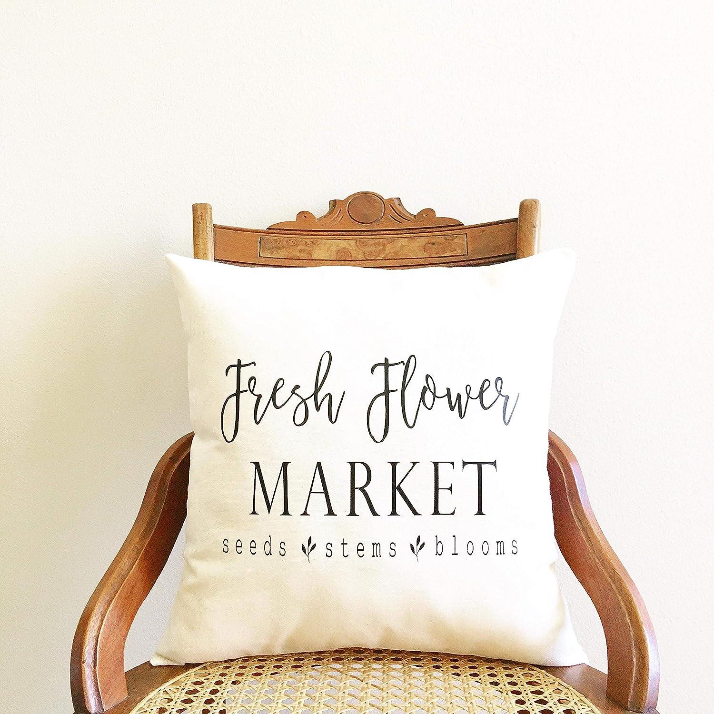 Fresh Flower Market pillow cover affiliate