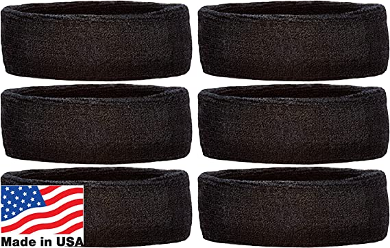 Unique Sports Performance Athletic Pair of Wristbands