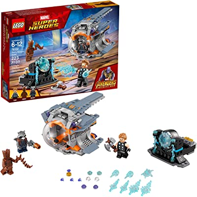 LEGO Marvel Super Heroes Avengers: Infinity War Thor's Weapon Quest 76102 Building Kit (223 Pieces): Toys & Games [5Bkhe0502509]