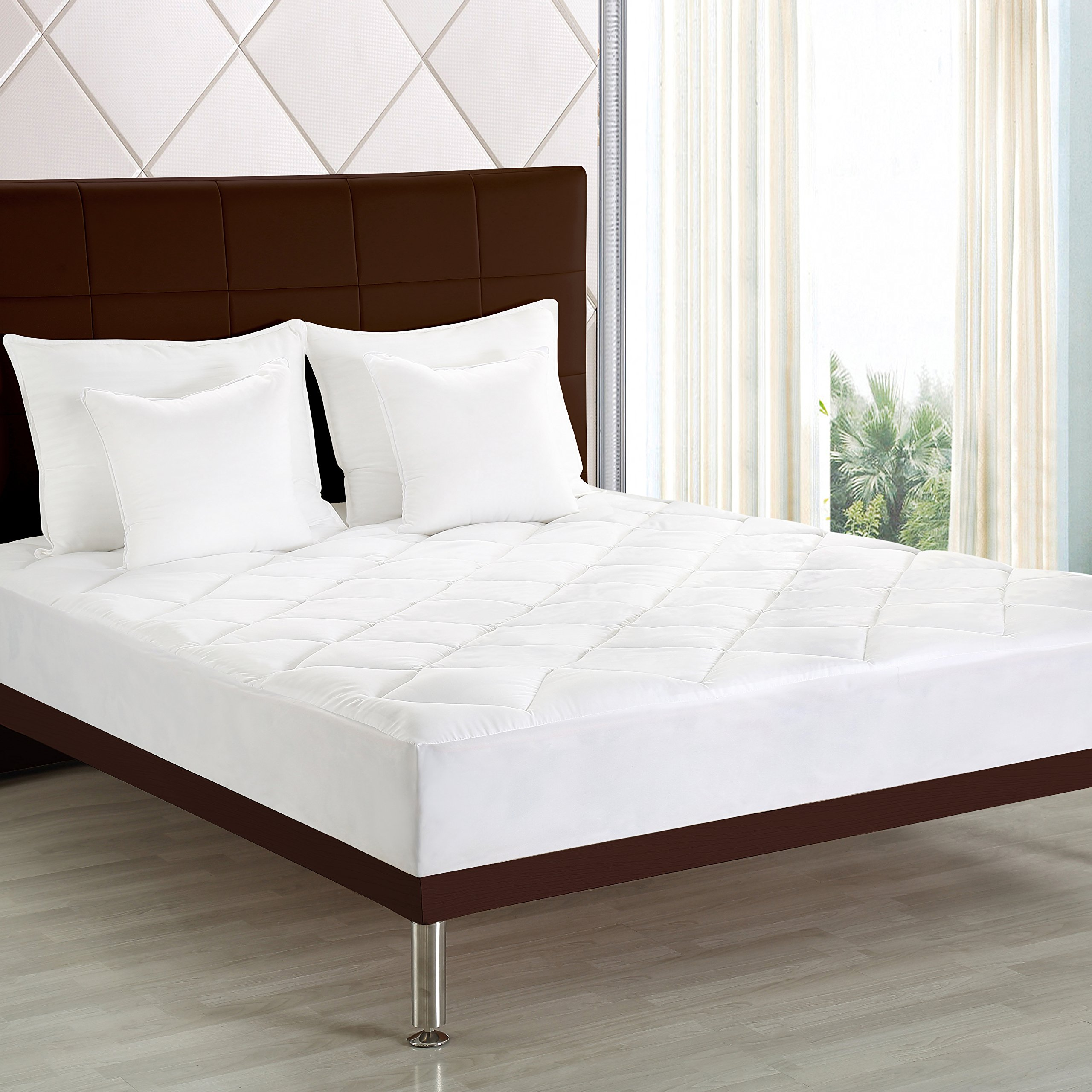 best rated in mattress pads protectors helpful customer reviews. Black Bedroom Furniture Sets. Home Design Ideas