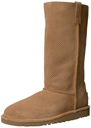 d8947dd6e0a UGG Women's Classic Unlined Tall Perforated Winter Boot