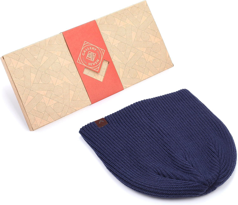 Gallery Seven Mens Beanie Knit Winter Hat