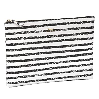 Golden Girl Pouch & Clutch, Fits iPad Mini, Water Resistant, Zips Closed
