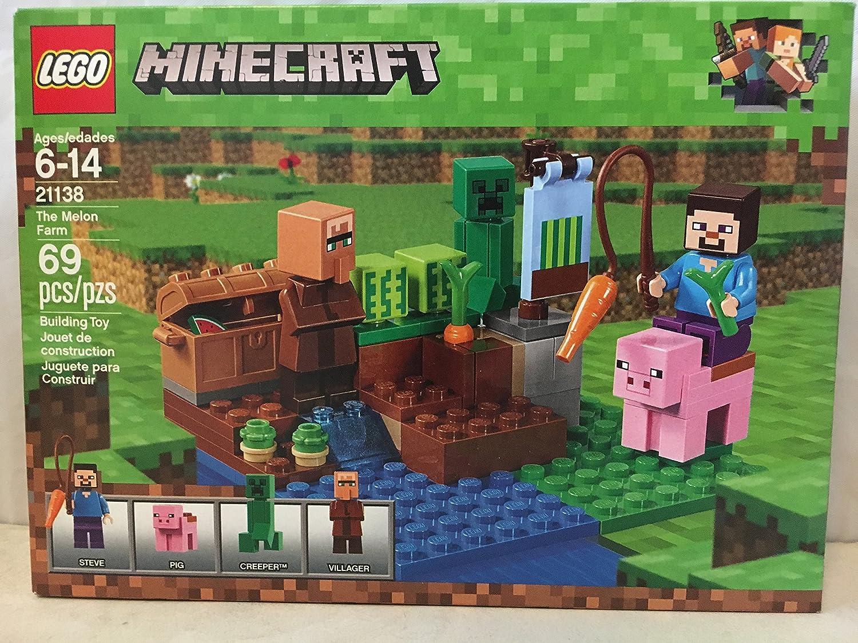 Amazon.com: LEGO Minecraft el gallinero & Lego Minecraft el ...