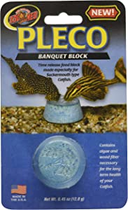 Zoo Med Laboratories AZMBB8 Pleco Banquet Block