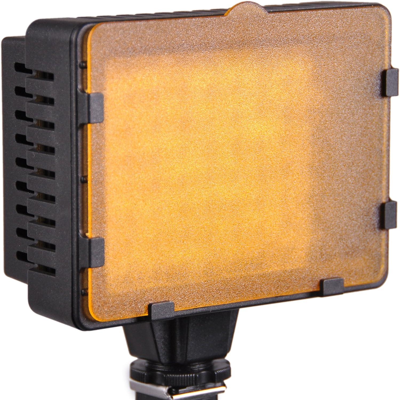 CowboyStudio Led VL-76 Ultra High Power 76 LED Digital Camera // Camcorder Video Light for Canon Panasonic Pentax Samsung and Olympus Digital SLR Cameras Nikon