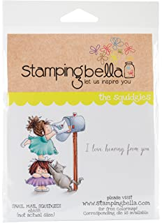 Stamping Bella 6.5X4.5-Edna Loves Ice Cream Cling Stamp Stamping Bella