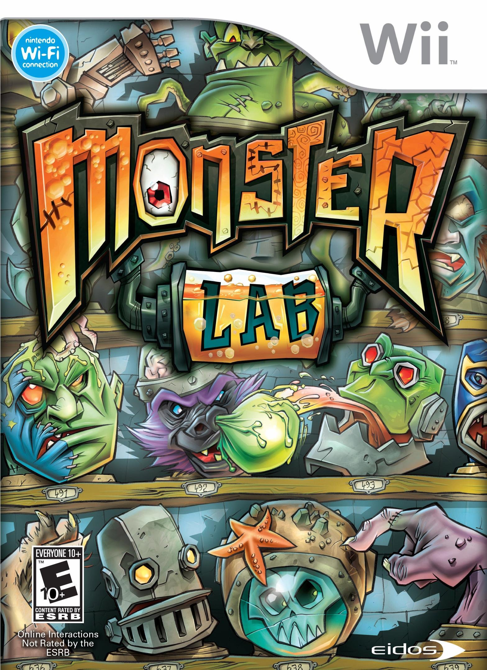 Monster Lab - Nintendo Wii