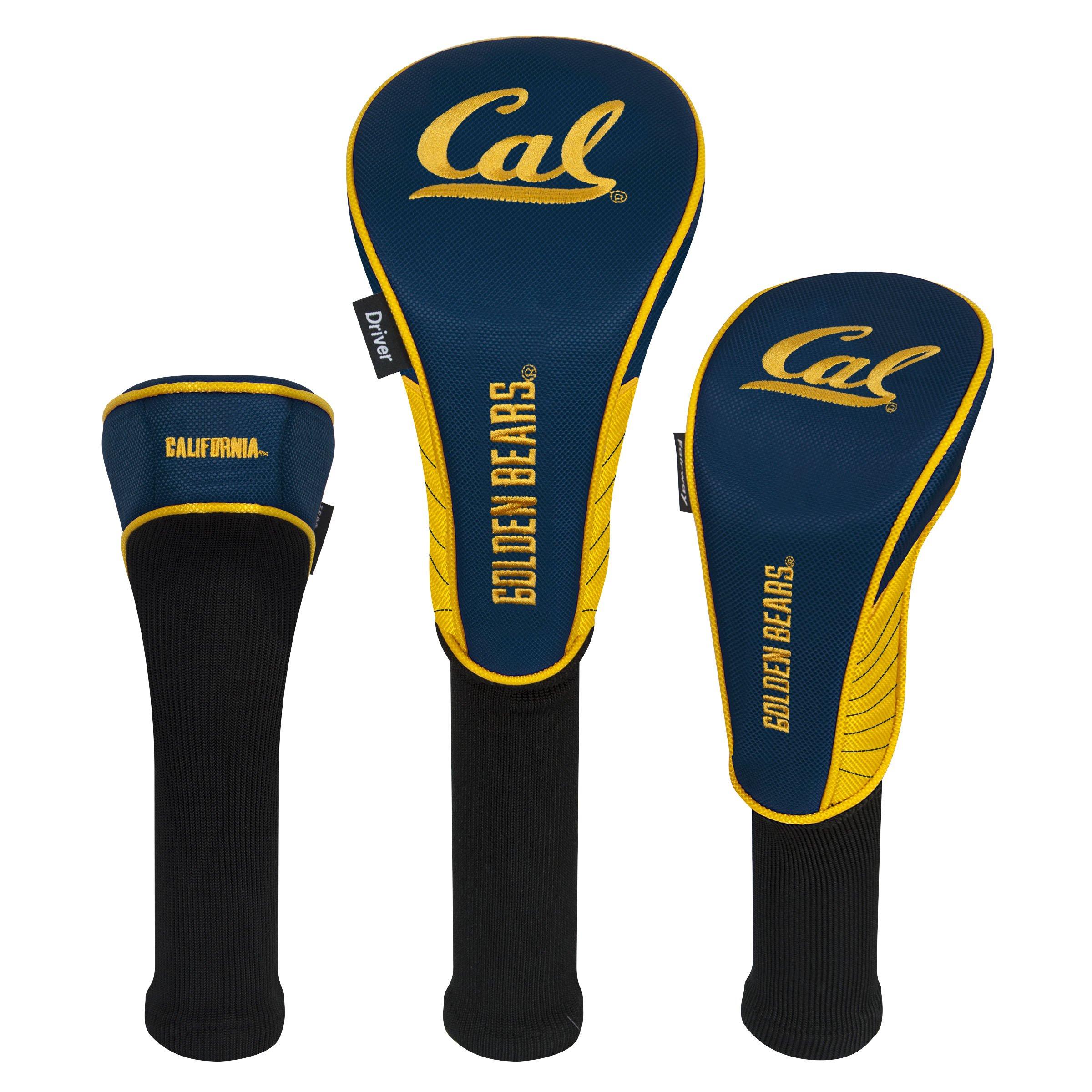 Team Effort Cal Berkeley Golden Bears Set of Three Headcovers