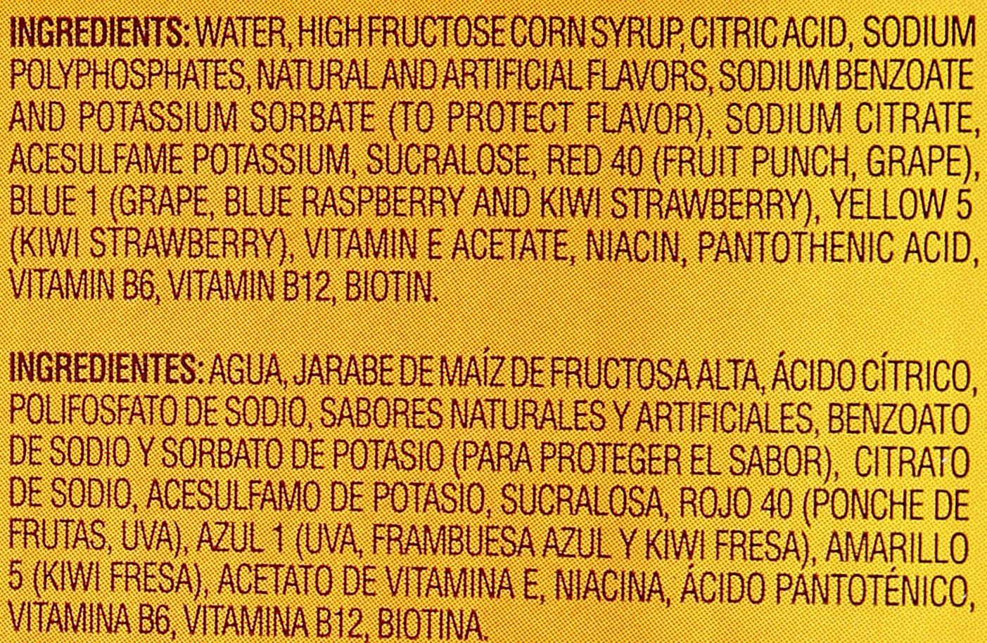 Amazon.com : Little Hug 4 Flavor Team Pack Fruit Drink, 8 oz : Grocery & Gourmet Food
